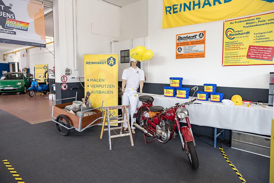 Farben Reinhardt.60 Jahre Farben Reinhardt Farben Reinhardt